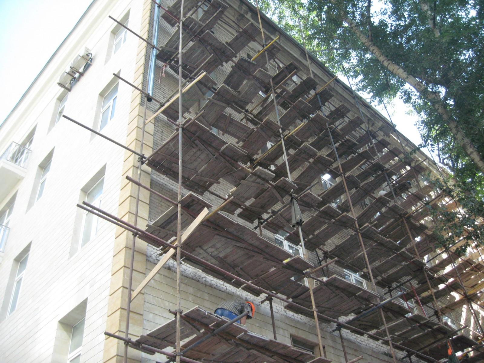 Правила ремонта фасадов в спб